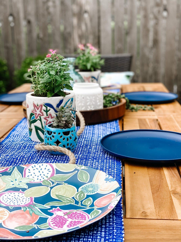 the Motherchic patio