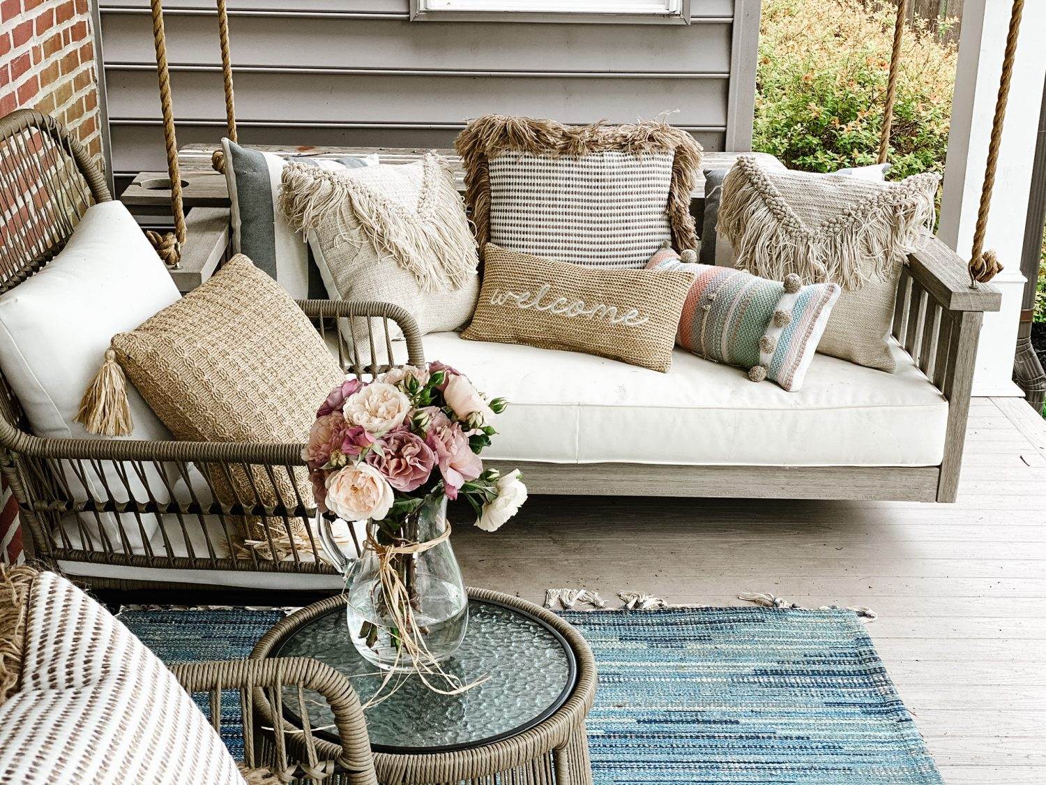 The Motherchic porch swing