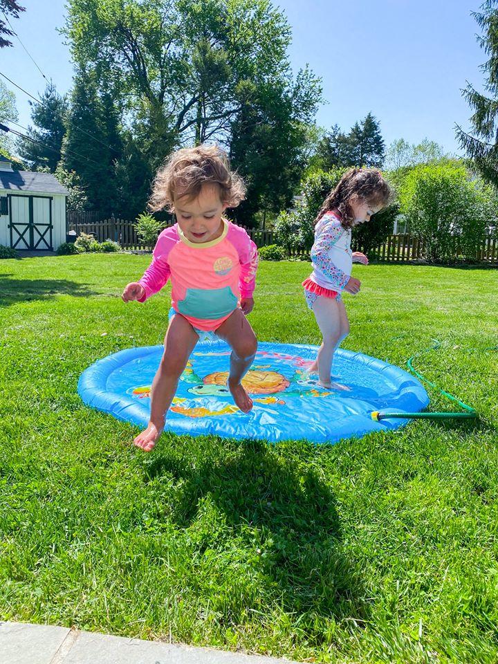 the motherchic toddler outdoor water activities