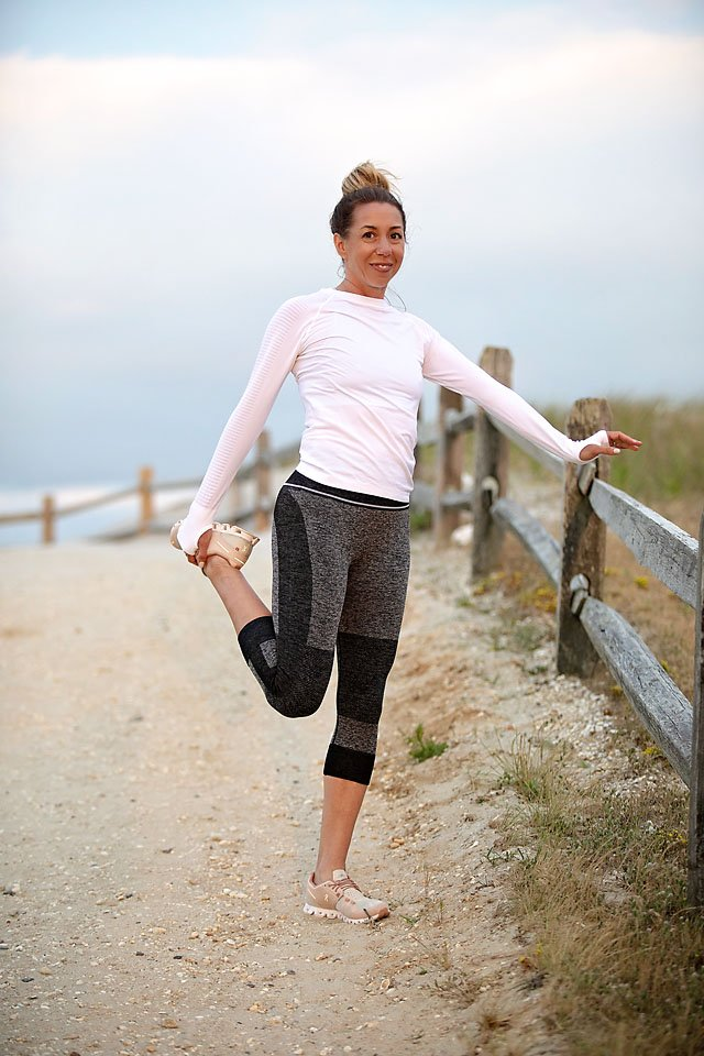 The Motherchic Amazon big style sale workout look
