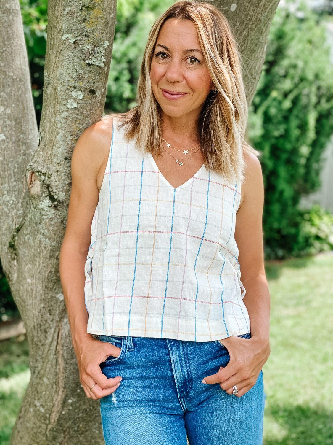 The Motherchic Madewell summer tops from Nordstrom