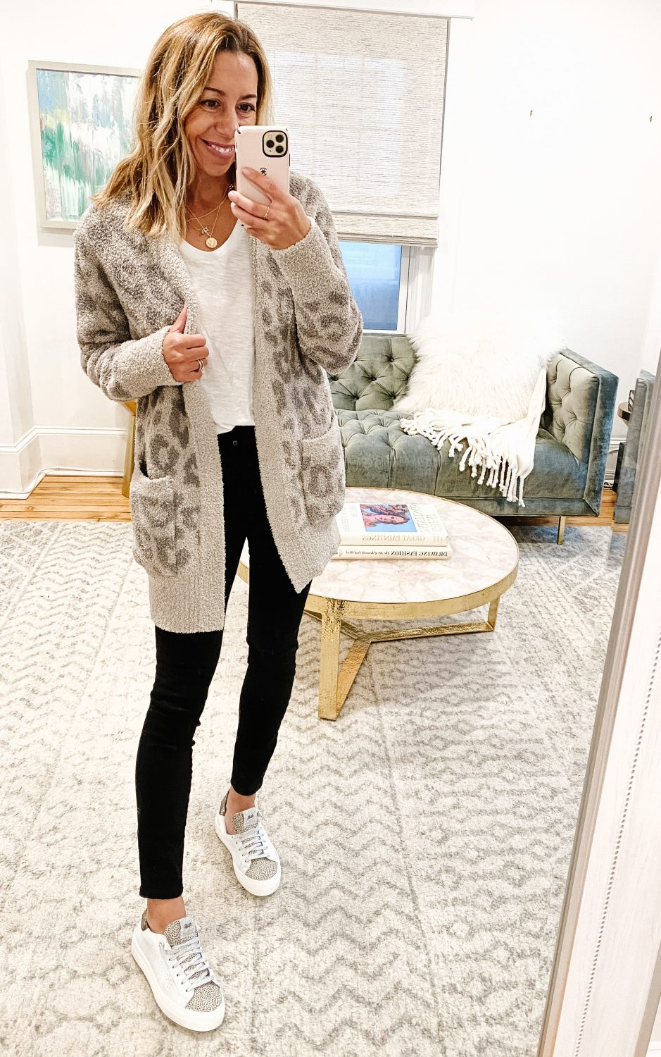 the motherchic nordstrom anniversary sale barefoot cardigan