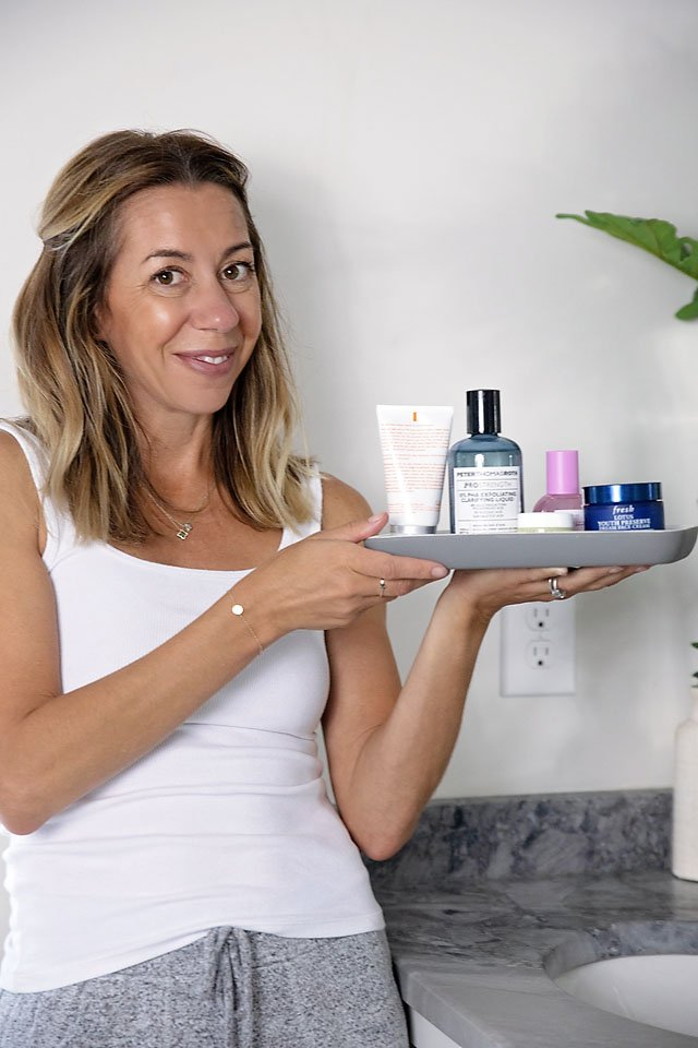 The Motherchic correct order to apply nighttime skincare from Sephora