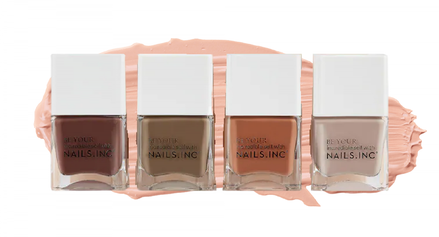 fall nail ombre colors