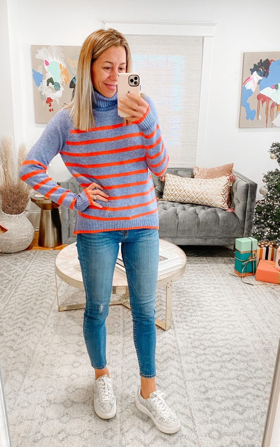 the motherchic thanksgiving outfit jcrew