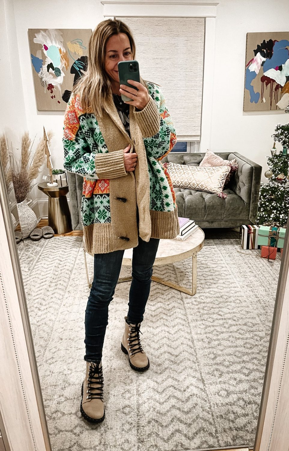 The Motherchic casual winter outfit