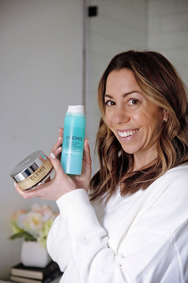The Motherchic double cleanse with Elemis