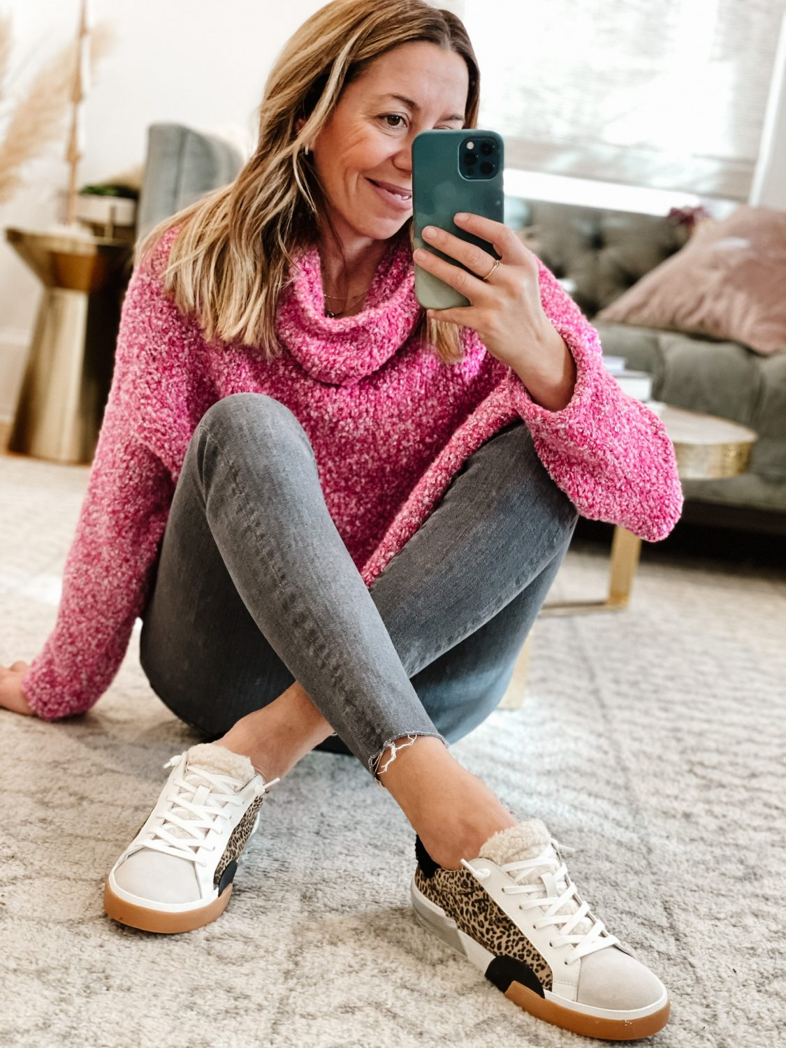the motherchic wearing fp sweater nordstrom