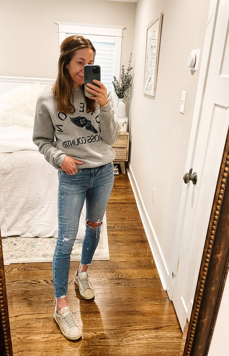 the motherchic wearing nordstrom