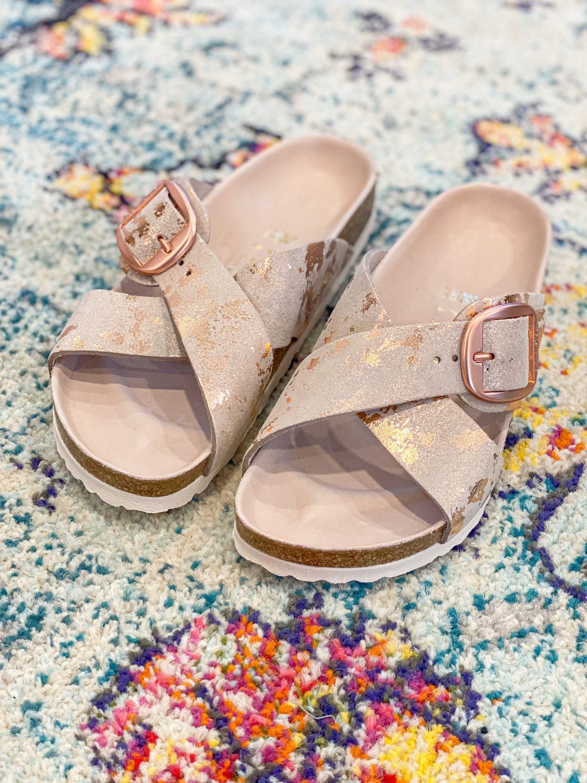 the motherchic birkenstock sandals