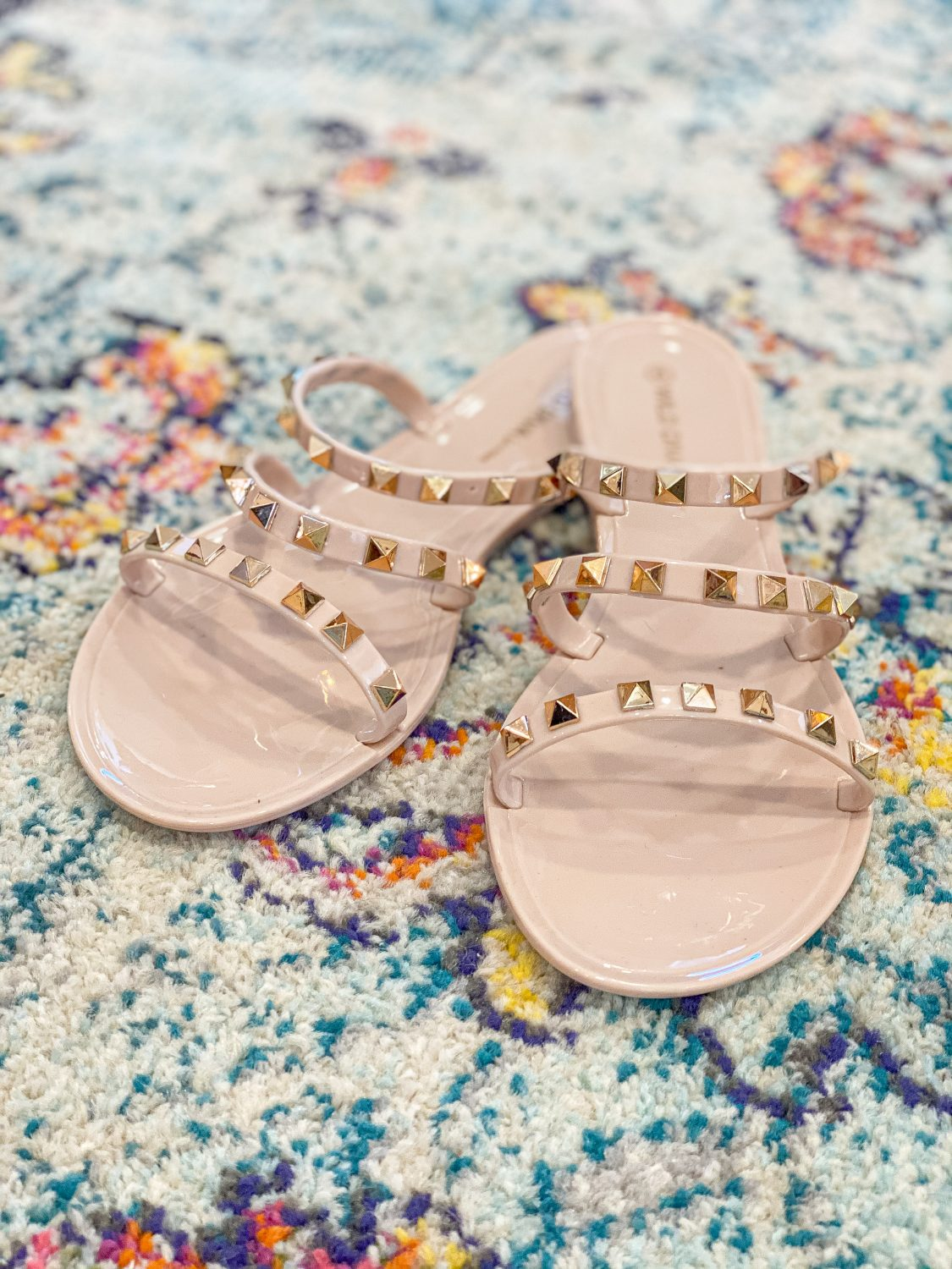 the motherchic studded sandals