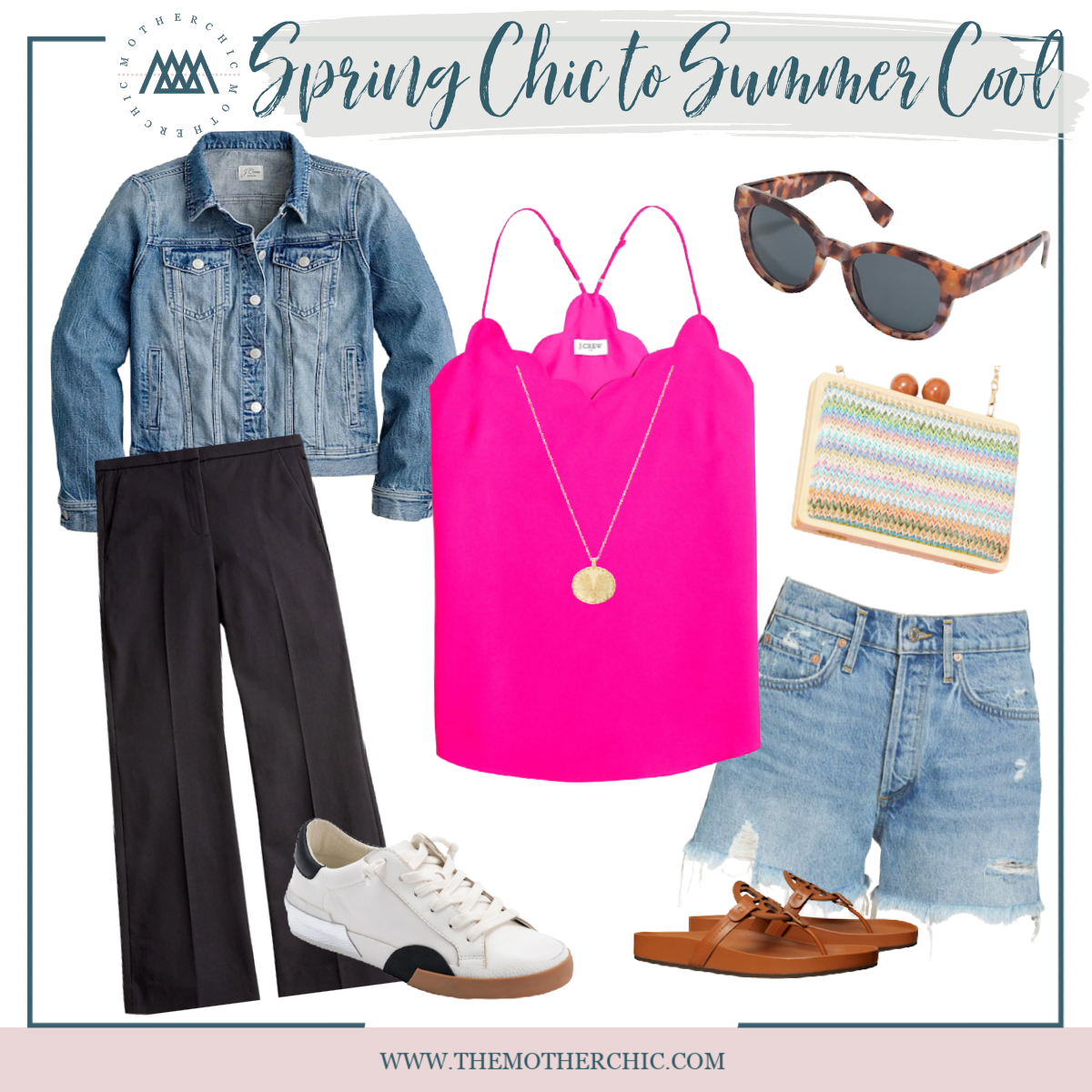 the motherchic spring blouses