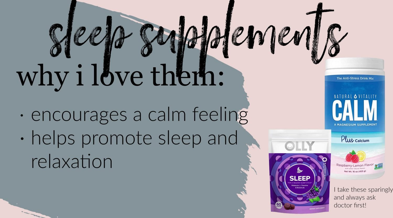 the motherchic things that help sleep