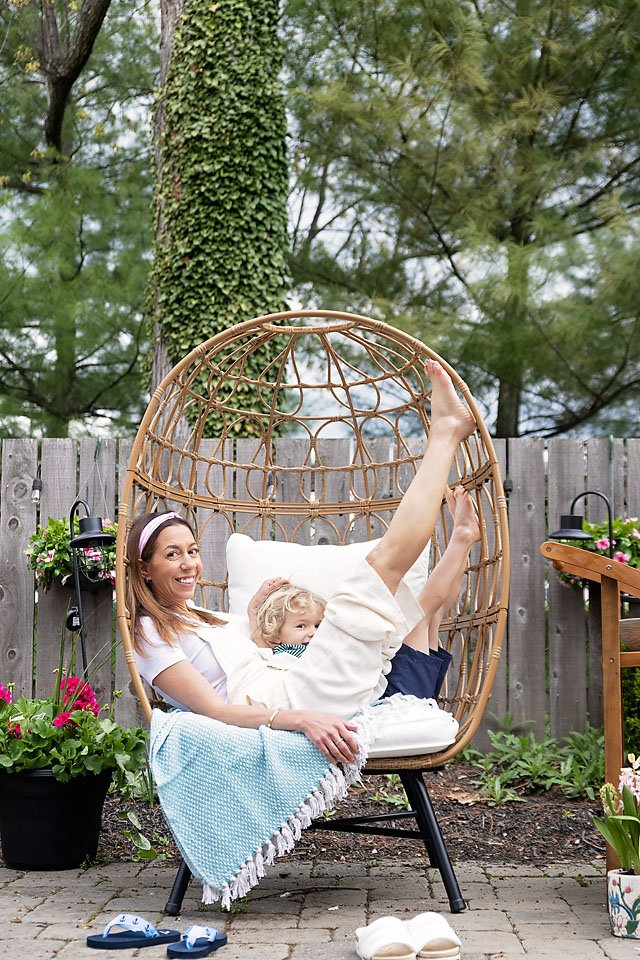 The motherchic outdoor haven from Bed Bath & Beyond