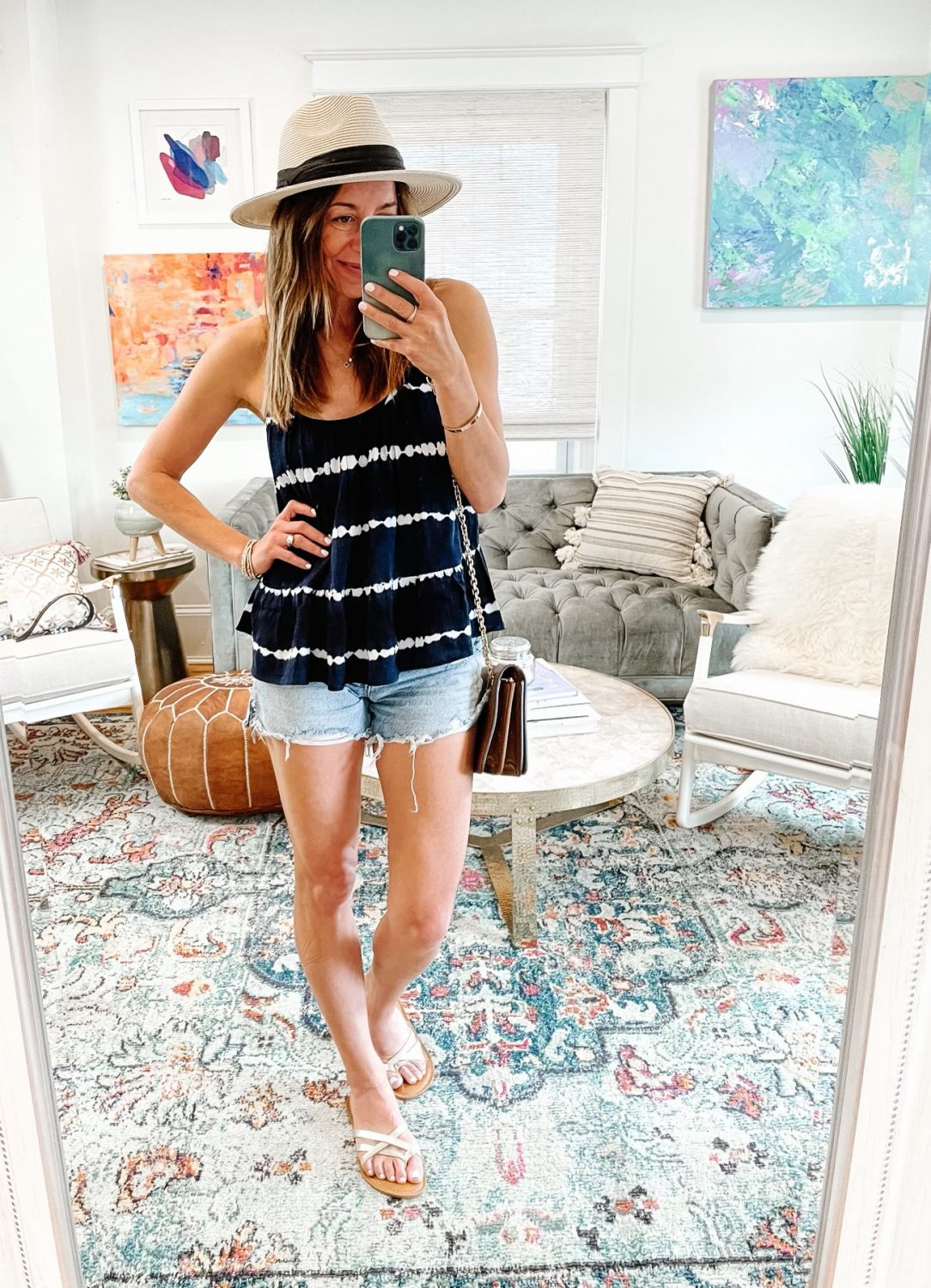 the motherchic 4th of july outfit
