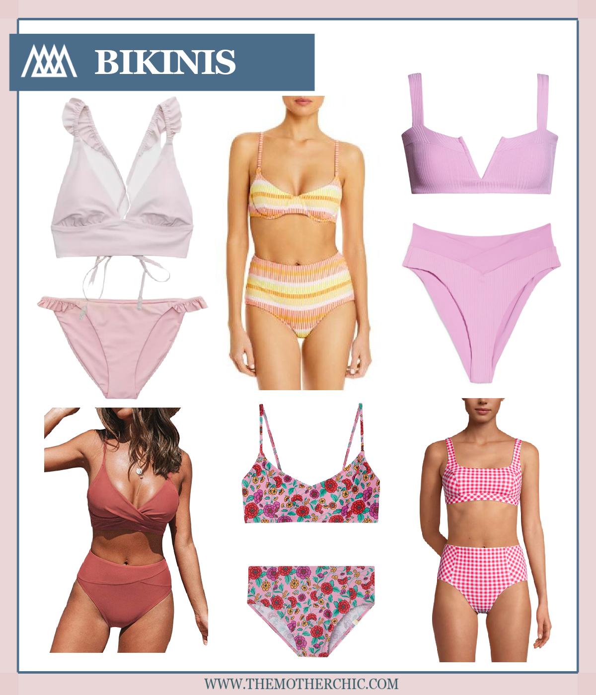 pink bikinis the motherchic