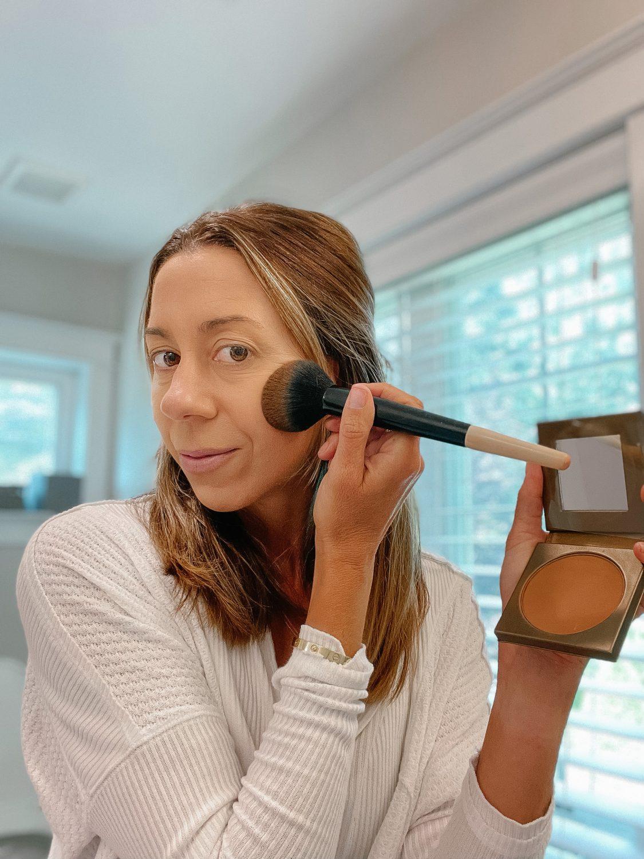 The motherchic tarte makeup
